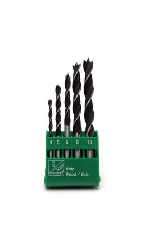 with bits: Drill bits