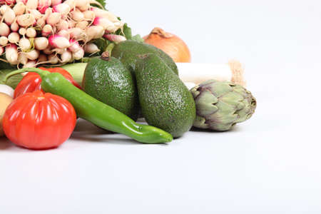 Different types of vegetable