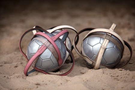 likeness: Polo balls Stock Photo