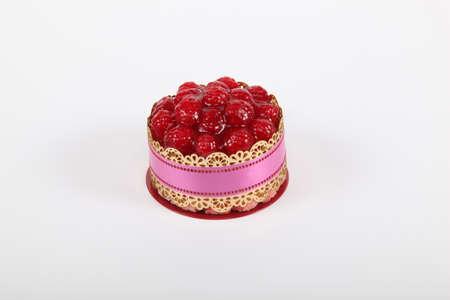 mouthwatering: A gourmet raspberry tart
