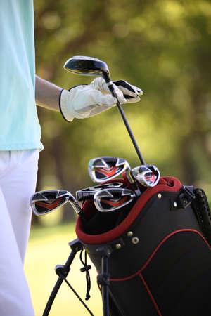 meticulous: Golf bag