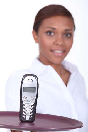 phone presentation photo