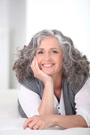 Smiling older woman Stock Photo - 22529956