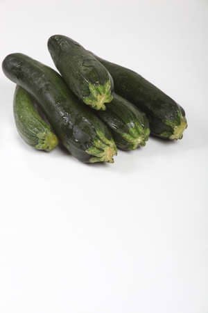 courgettes: Studio shot of courgettes