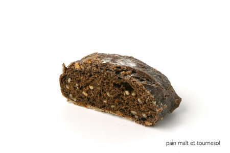 malted: Malted bread with sunflower seeds