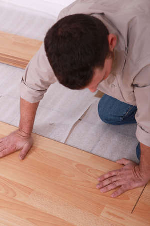 Laminate flooring photo