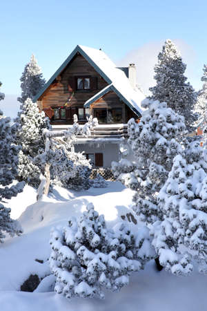 lodge: Mountain chalet