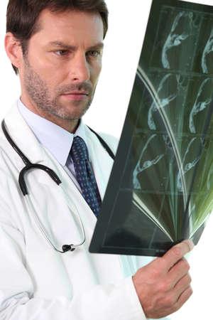 interpret: radiologist Stock Photo