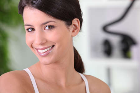 woman training in the gym Stock Photo - 22840347