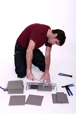 tile cutter: Tile cutter