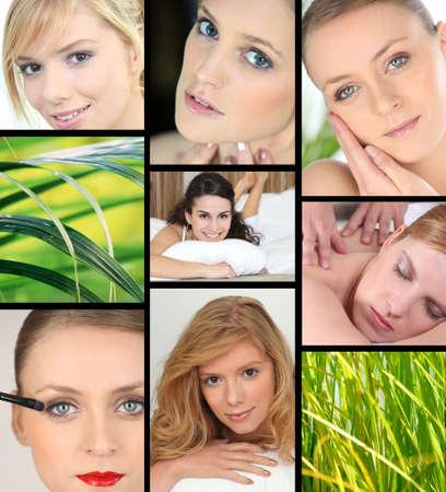 laid back: Feminine Beauty