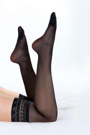 muslos: Piernas sexys Foto de archivo