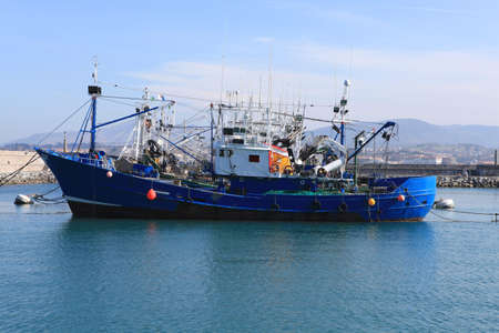 fishing industry: Trawler