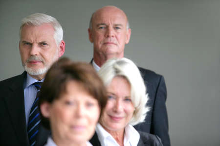senior business: Senior business team