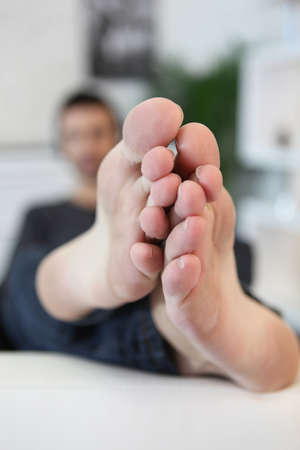 immobility: Bare feet