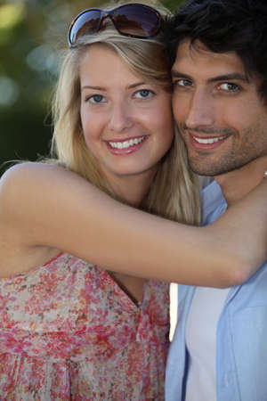 soul mate: Young couple in love