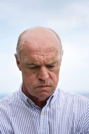 devastated: Grumpy old man