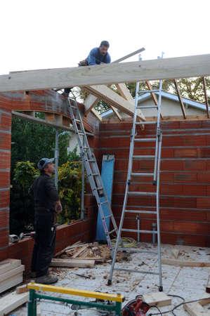 2x4 wood: Building garage