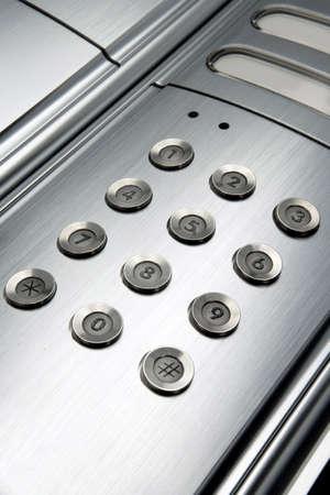 lift lock: Entryphone