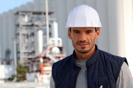 taskmaster: craftsman on a construction site