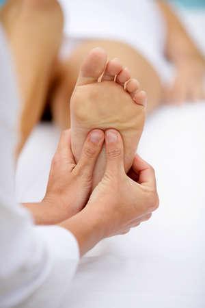 rubdown: foot massage