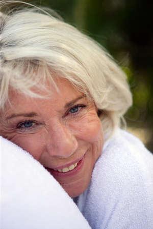 2 50: Happy older woman