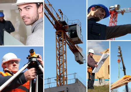 Building mosaic Stock Photo - 24249520