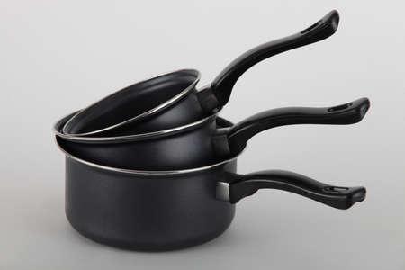 nonstick: Kitchenware Stock Photo