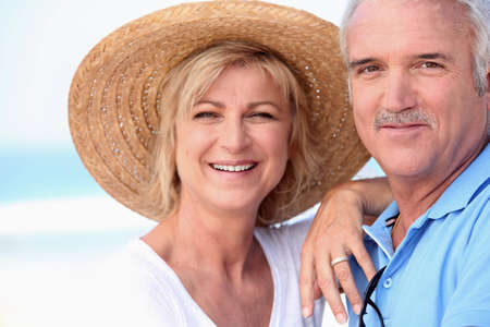 Portrait of Senior couple photo