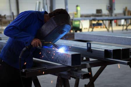 welder: Worker welding
