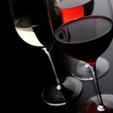 Drei Gläser Wein Lizenzfreie Bilder