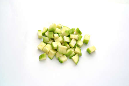 Verduras en cubitos