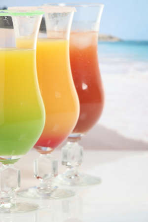caribbean climate: Three fruity cocktails