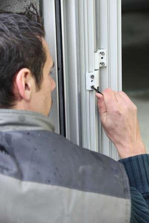 double glazing: Window fitter