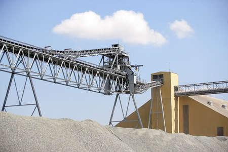 sand quarry: Quarry Stock Photo