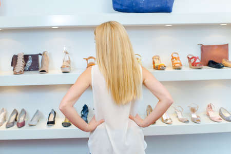 women s fashion: Browsing for new shoes