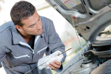 carretilla de mano: Comprobación del motor