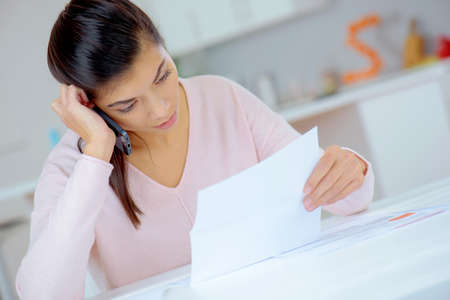 money problems: Woman experiencing money problems
