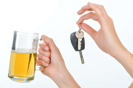 stupidity: Beer and car keys dont mix
