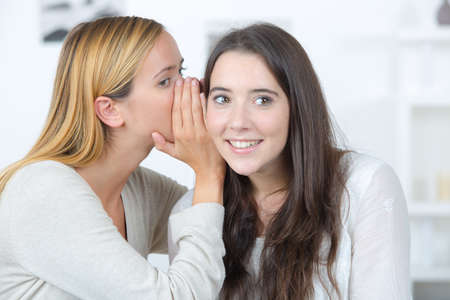 hesitations: Whispering a secret to a friend