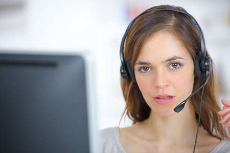 call: Call centre worker