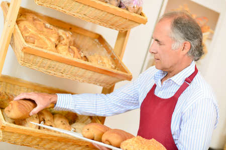 siervo: panadero clasificación Foto de archivo