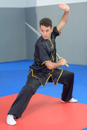 fighting stance: Japanese fighting stance