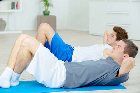 sit ups: Time to do some sit-ups