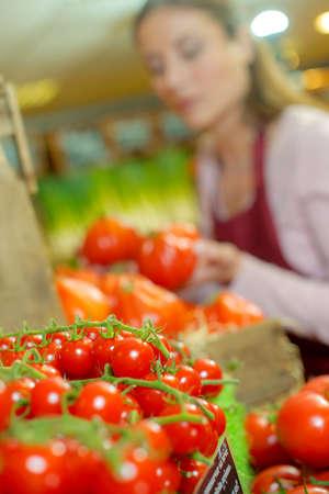tomate cherry: Tomates cherry