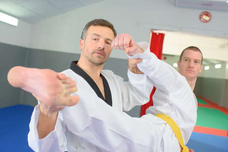 martial art: Judo teacher