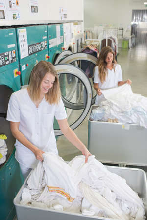 ženy v umývárna Reklamní fotografie