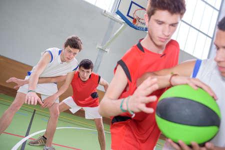 sportsmanship: basketball game