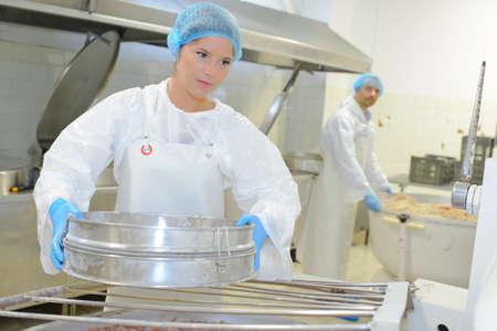 пищевая фабрика Фото со стока