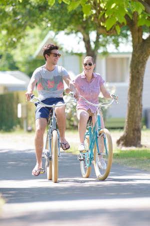sandal tree: riding bikes